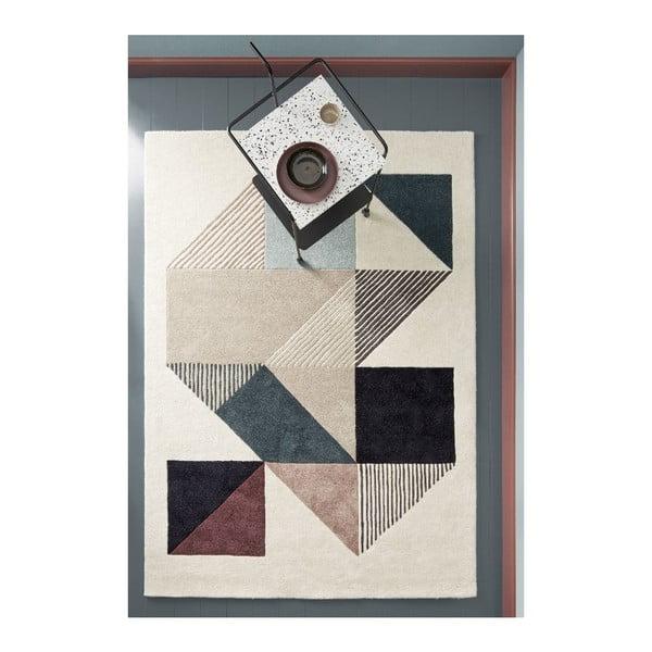 Vlnený koberec Mikill Mixed, 140x200 cm