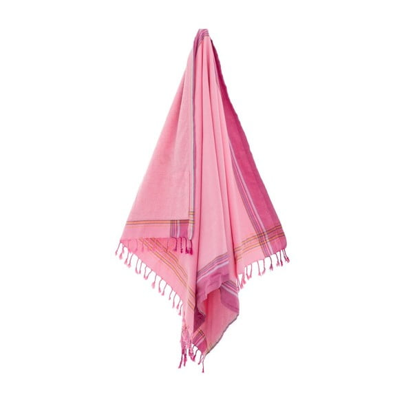 Osuška Zeki Pink, 100x178 cm