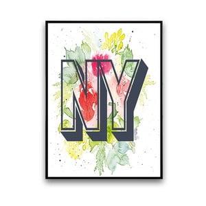Plagát NY, 30 x 40 cm