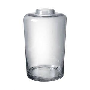 Váza z ručne fúkaného skla Parlane Blown, výška 35,5 cm