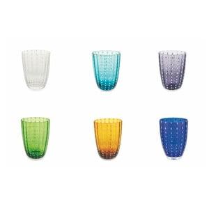 Sada 6 farebných pohárov Villa d´Este Kalahari