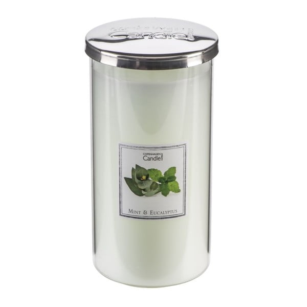 Aroma sviečka  Mint & Eucalyptus Talll, doba horenia 70 hodín