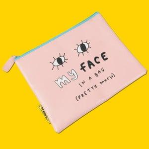 Kozmetická taštička/peňaženka Happy News My Face In A Bag