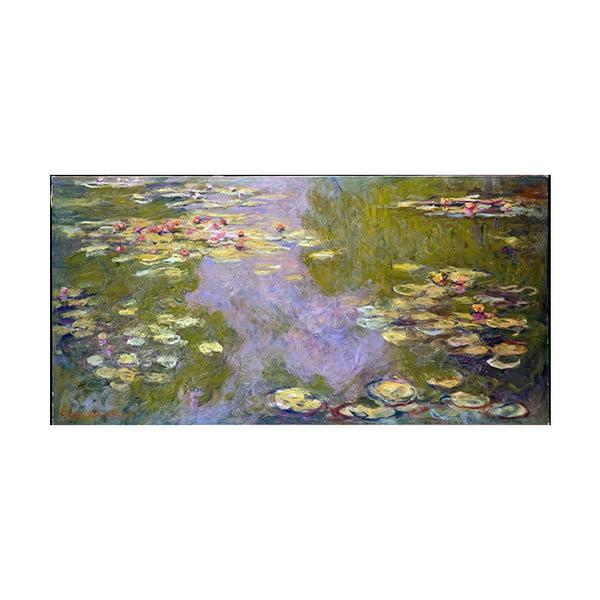 Obraz Claude Monet - Water Lilies, 80x40 cm