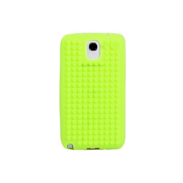 Pixelový obal na Samsung Note 3, jablkovo zelená