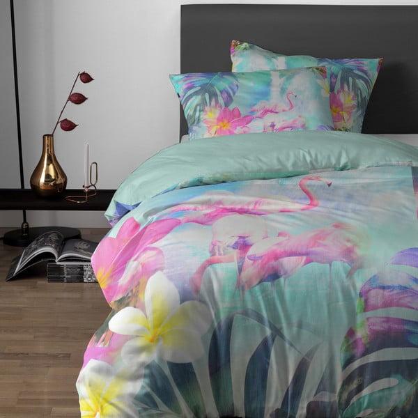 Obliečky Flamingo 140x200 cm, mátové