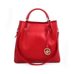 Červená kabelka Beverly Hills Polo Club Amy