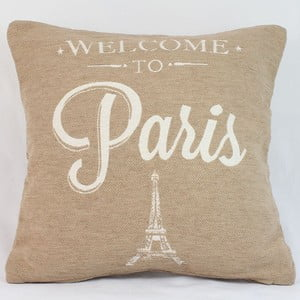 Obliečka na vankúš Paris in Beige, 40x40 cm