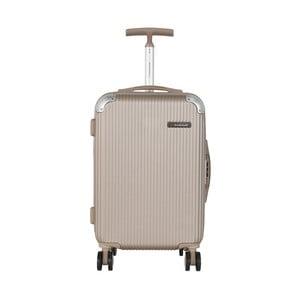 Béžová príručná batožina Travel World Luxury, 55×34cm