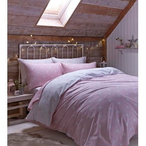 Obliečky Brushed Polka Pink, 200x200 cm