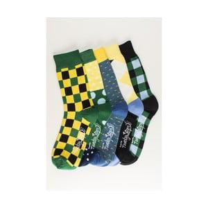 Sada 5 párov unisex ponožiek Funky Steps Oribel, veľkosť 39/45