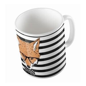 Keramický hrnček Handsome Fox, 330 ml