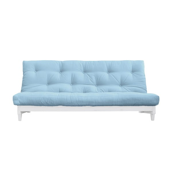 Rozkladacia pohovka Karup Design Fresh White/Light Blue