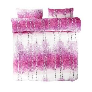 Obliečky Pink Double, 200x200 cm + 50x75 cm