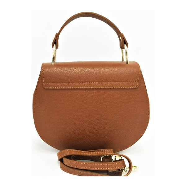 Kožená kabelka Julia Cognac