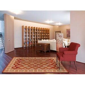 Červený koberec Universal Gori, 190 × 280 cm