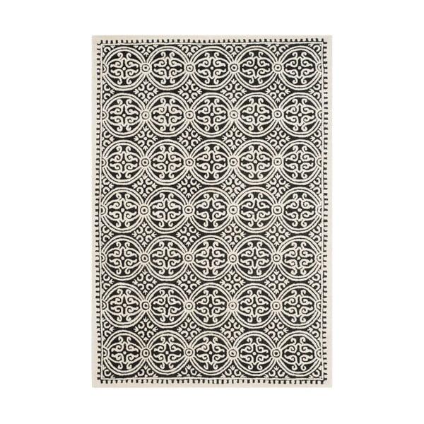 Vlnený koberec Marina Light Grey, 182x274 cm