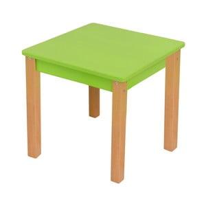 Zelený detský stolík Mobi furniture Mario