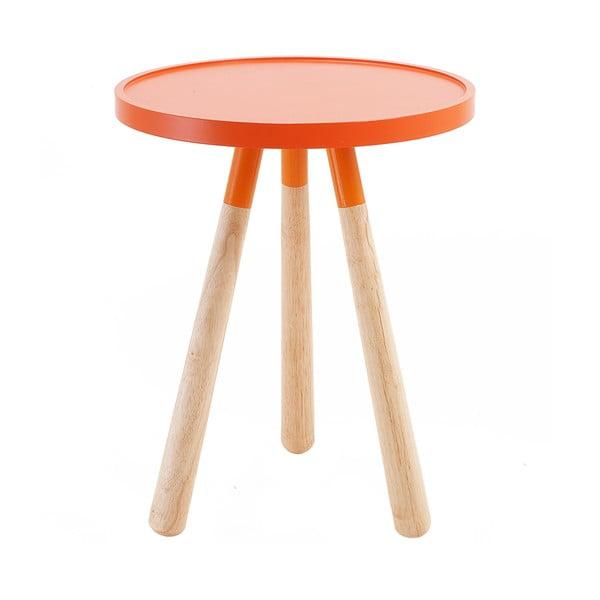 Stolík Present Time Orbit, oranžový