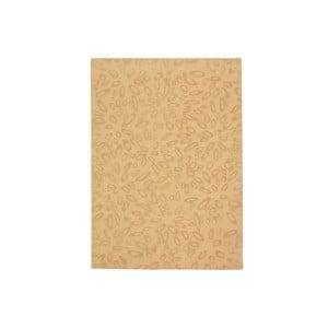 Vlnený koberec Seto Beige, 140x200 cm