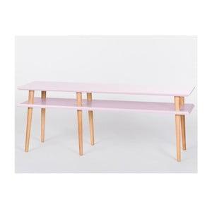 Konferenčný stolík Mugo Pink, 119 cm