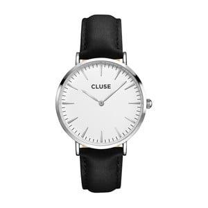 Hodinky CLUSE La Bohème Silver/White Black