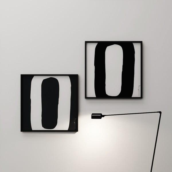 Plagát Litera O, 50x50 cm