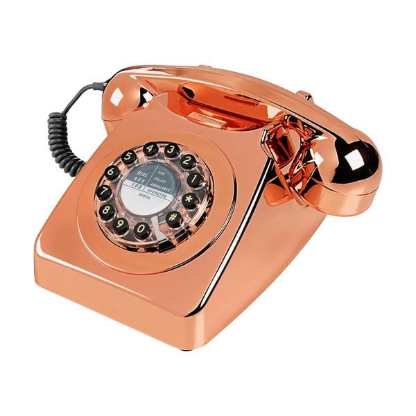 Retro funkčný telefón Serie 746 Copper