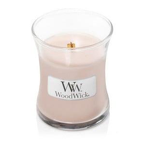 Vonná sviečka Woodwick Vanilka a morská soľ, 20 hodín