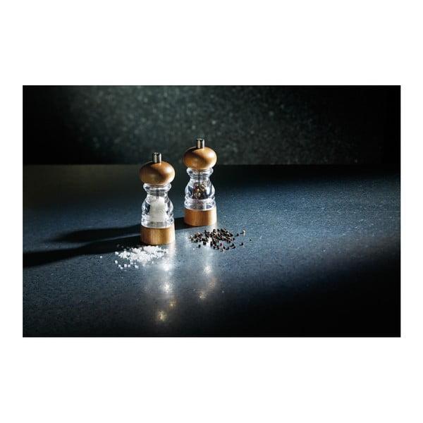 Mlynček na soľ  Kitchen Craft Master Class, výška 14 cm