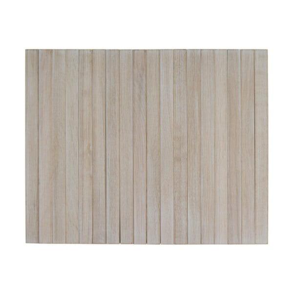 Béžová drevená podrúčka na pohovku De Eekhoorn