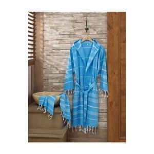 Set županu a uteráka Sultan Blue, veľ. L/XL