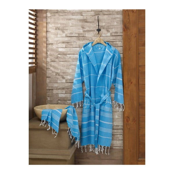 Set županu a uteráka Sultan Blue, veľ. S/M