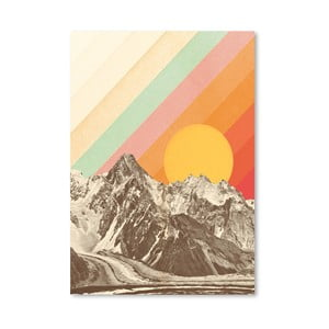 Plagát Americanflat Mountains, 42 x 30 cm