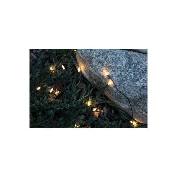 Vonkajšia svietiaca reťaz Best Season Warm White, 80 svetielok