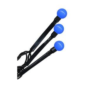 Modrá svietiaca dekorácia Beads