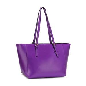 Fialová kabelka L & S Bags Dorna