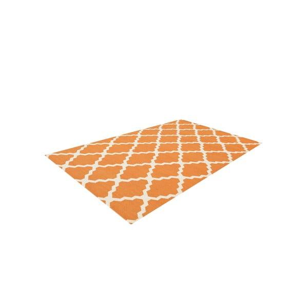Vlnený koberec Kilim Jasmina Orange, 160x230 cm