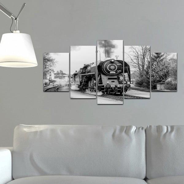 Viacdielny obraz Black&White no. 23, 100x50 cm