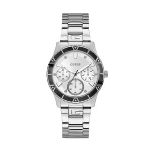 Dámske hodinky v striebornej farbe s antikoro remienkom Guess W1158L3