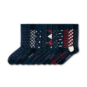 Sada 10 párov ponožiek Black&Parker London Gibberd Garden, veľ.37 - 43