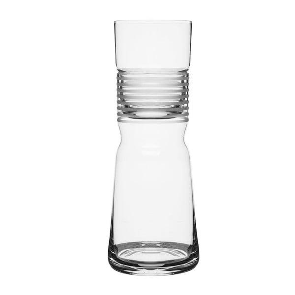 Karafa s pohárom Sagaform, 1 l