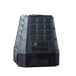 Kompostér EcoJoe 600 l, čierny