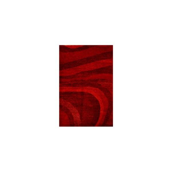Vlnený koberec Palpa Red, 90x160 cm