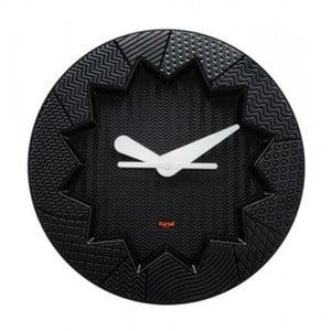 Čierne hodiny Kartell Crystal Palace