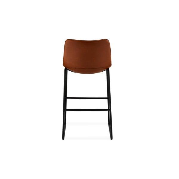 Sada 2 hnedých barových stoličiek Furnhouse Indiana