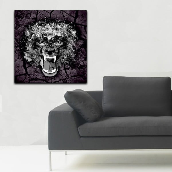 Obraz Predátor, 60x60 cm