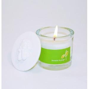 Aromatická sviečka THD Fragnances, verbena a zázvor