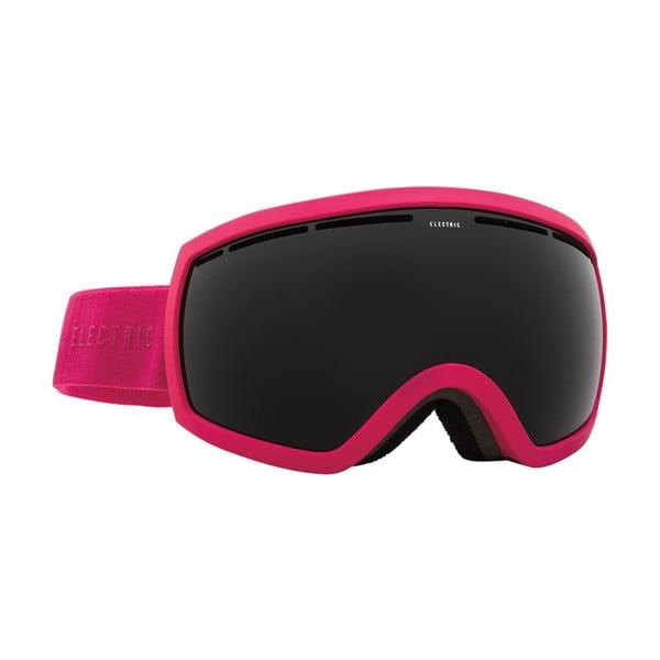 Dámske lyžiarske okuliare Electric EG25 Solid Berry Jet Black, veľ. M