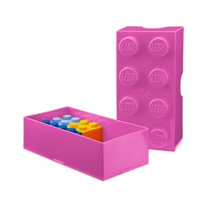 Box na desiatu LEGO®, ružový
